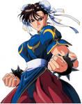 Street Fighter II Movie Chun-Li Key Art 02