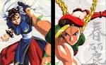 Street Fighter II Movie Chun-Li Cammy Key Art 01