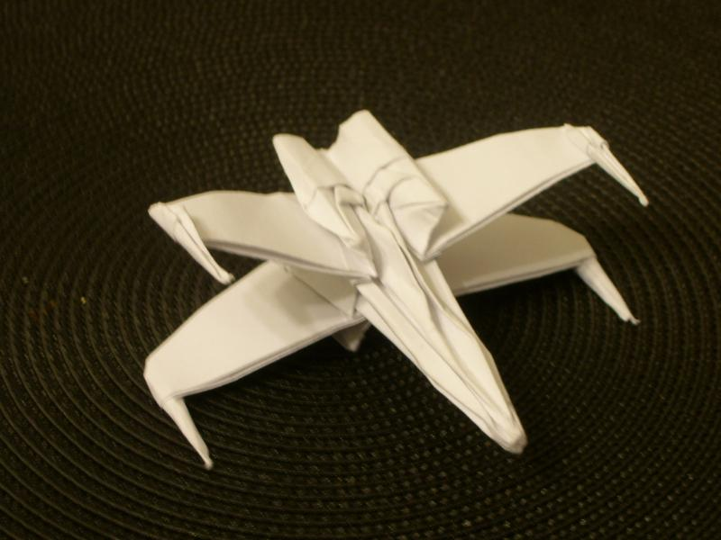 X-Wing Fighter by taerkitty
