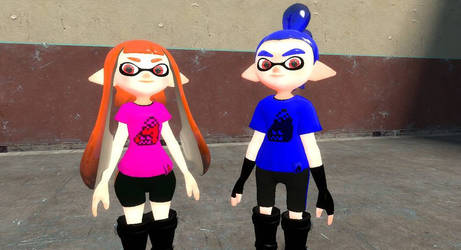 My Very Own Splatoon OCs (Ika  Bloo)