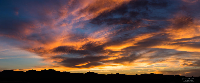 Colorful Sunset -- Desktop Background --3440x1440 by Hatch1921