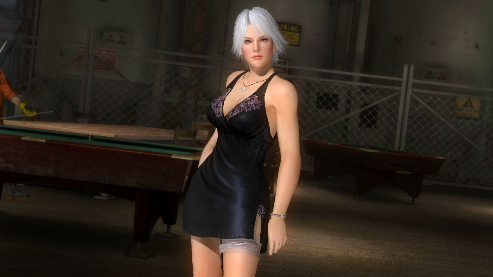 DOA5 Christie Evening Dress by darkblueking