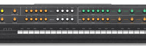 Vermona Synthesizer, Front
