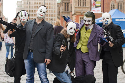 The Joker Cosplay - May 2014