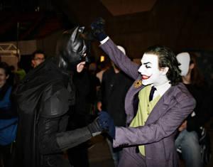 Joker Cosplay - Beating The Bat