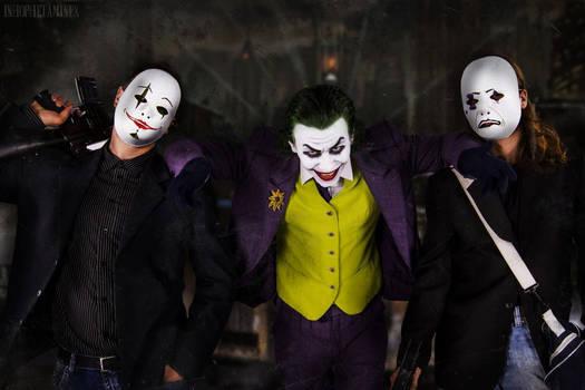Joker Cosplay - With the Crew