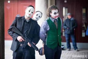 Dark Knight Joker Cosplay - Hello