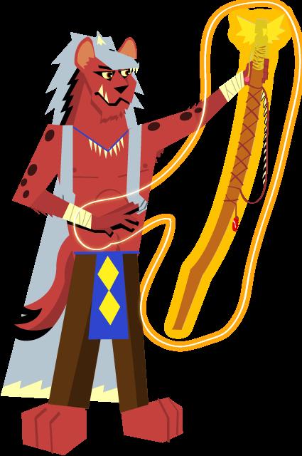 Red Wolf, Shaman by Talyma