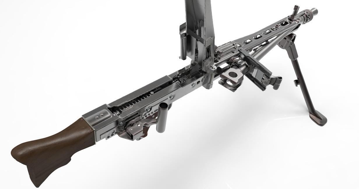ww2 german machine gun mg42