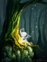 Forest Lights by skratek