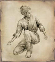 Kunoichi by skratek