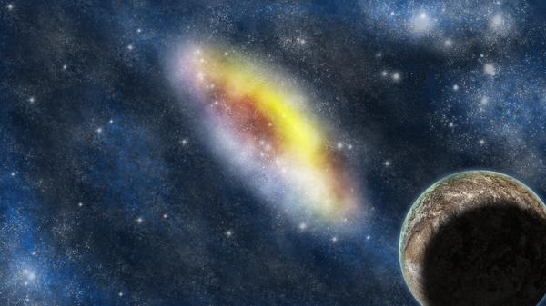 Starry Background by LadyNyoko