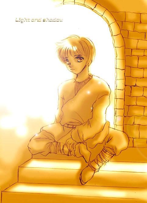 anakin boy by riroco