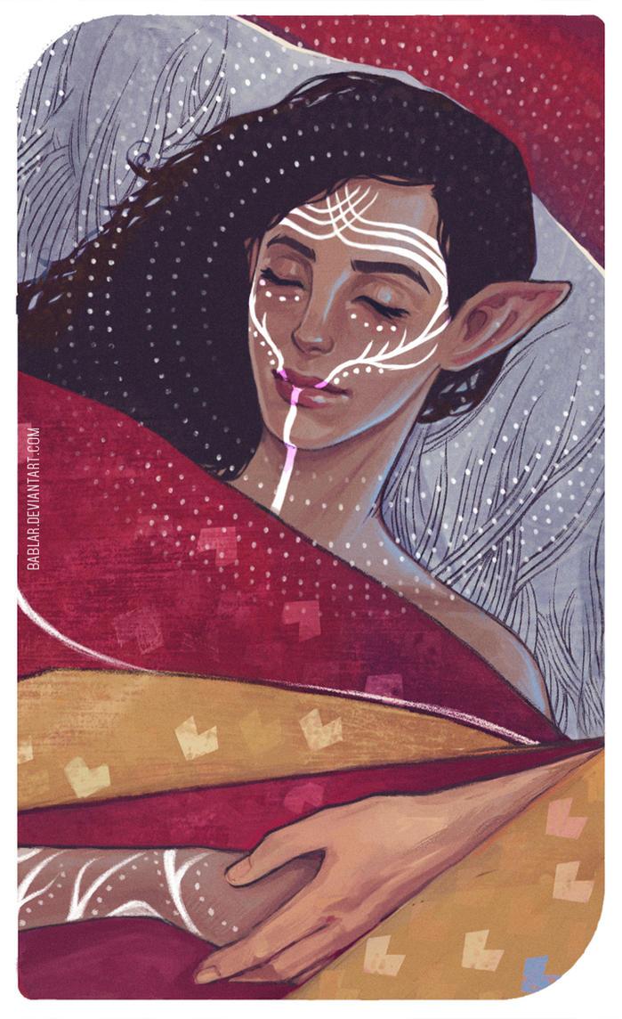 romance tarot by bablar
