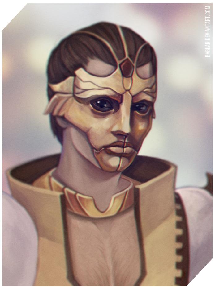 Thane Krios mask by bablar