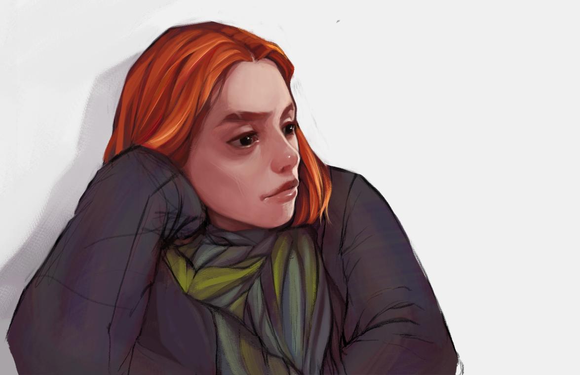 redhead by bablar