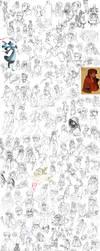 sketchdump 16 by Lankikek
