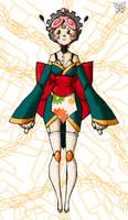 Gear Maiden Phi-Phi AE Puppet