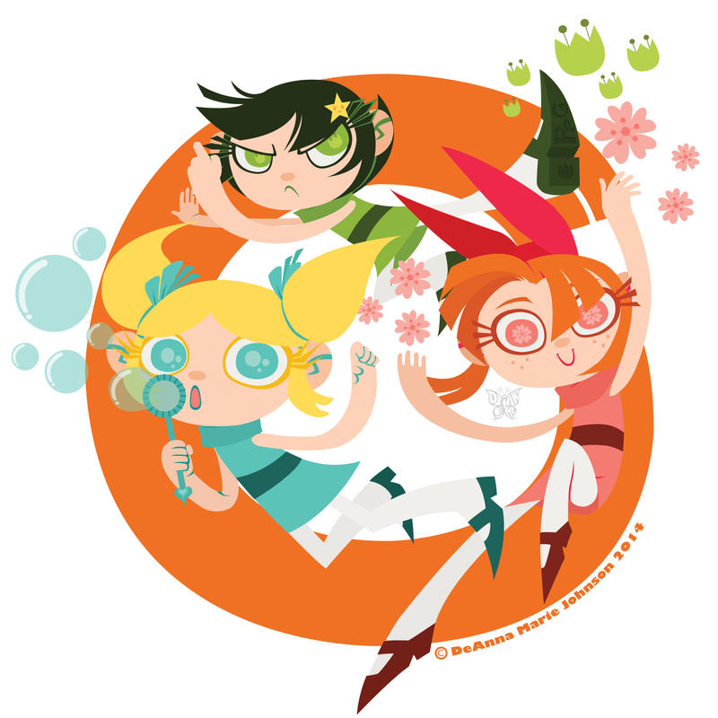 PPG: Powerpuff Loop! by DeAnimeJ