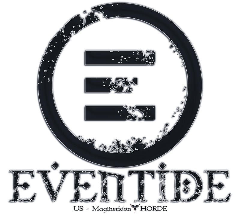Eventide Logo Splash Page by mick-mick