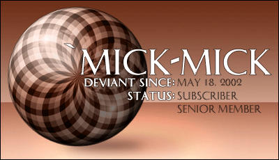 mick-mick's Profile Picture
