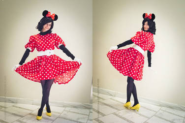 I'm just a minnie mouse