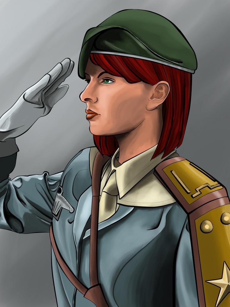 First Lieutenant Margo Faulkner by Katsu05