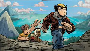 Super Hero Squad Panel