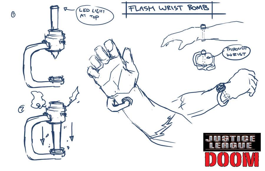 Mirror Master Detonation Bracelet