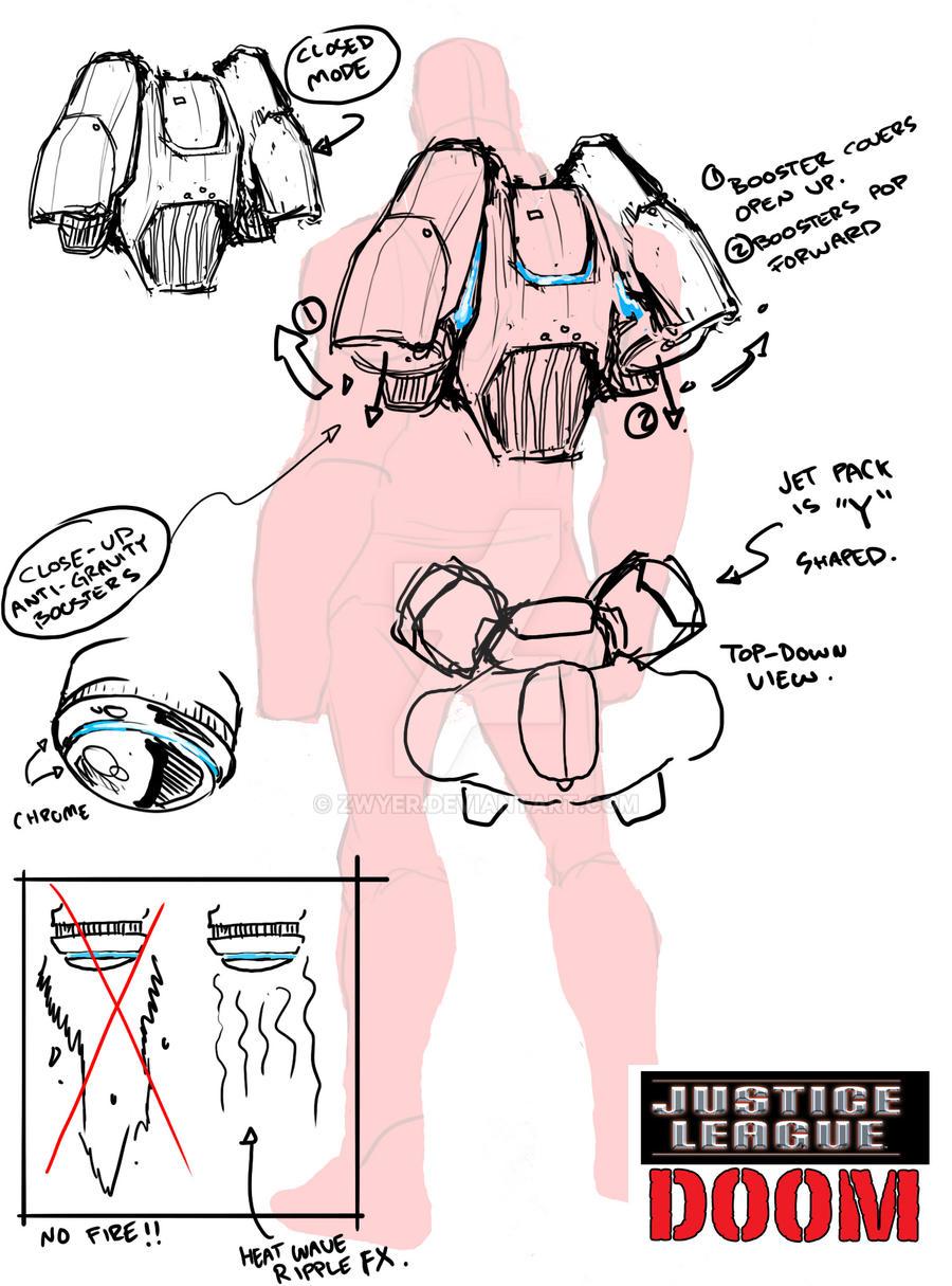 Cyborg's Jetpack