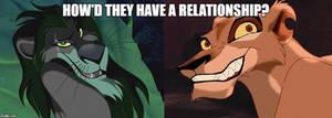 How Where Scar and Zira Close?
