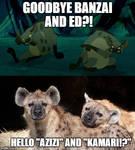 BANZAI AND ED ARE NO MORE!?