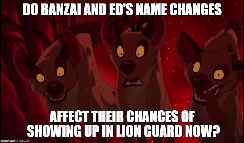 Names Changes Mean No Lion Guard Classic Boys? by Madarao123