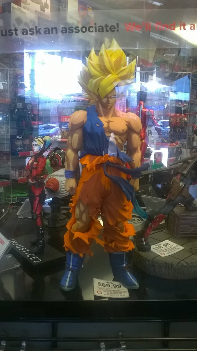 Cool goku figure by madarao123