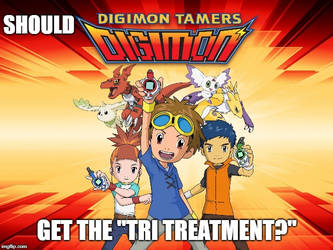 Digimon Tamers Remake? by Madarao123