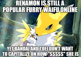Renamon Meme by Madarao123