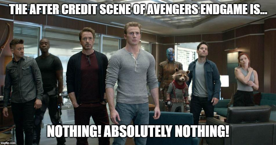 Avengers Endgame After Credit Scene By Madarao123 On Deviantart