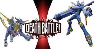 Garurumon Digimon Death Battle by Madarao123