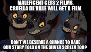 Petition For Classic Hyena Trio Disney Film by Madarao123