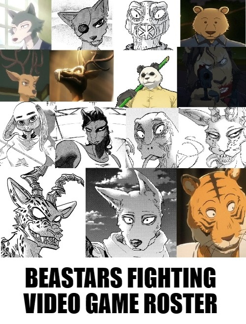 If Beastars Became A Fighting Video Game
