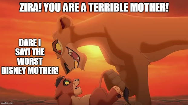 Zira: The Worst Disney Mom?