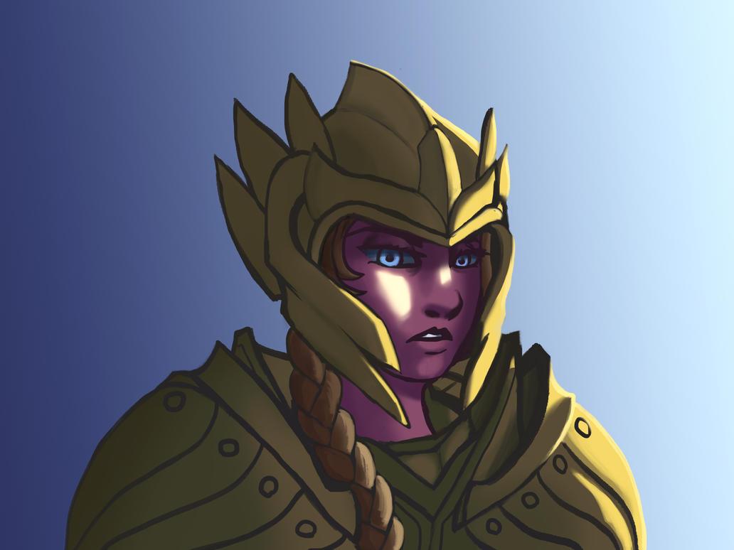 Elven armor by DarioSiehtFeinde