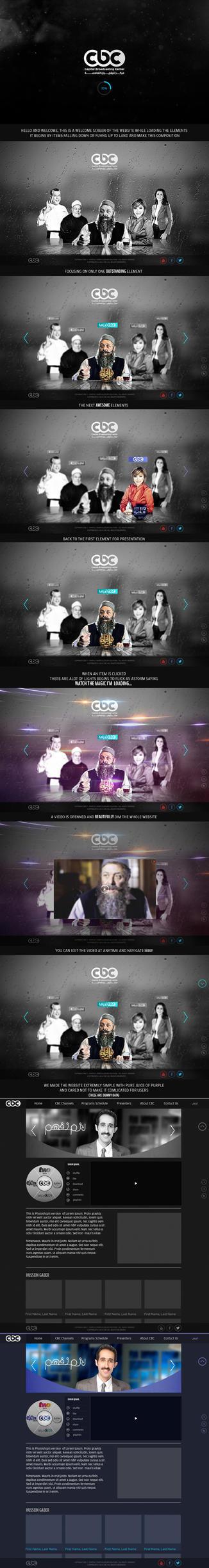 CBC-Website concept by HusseinGaber