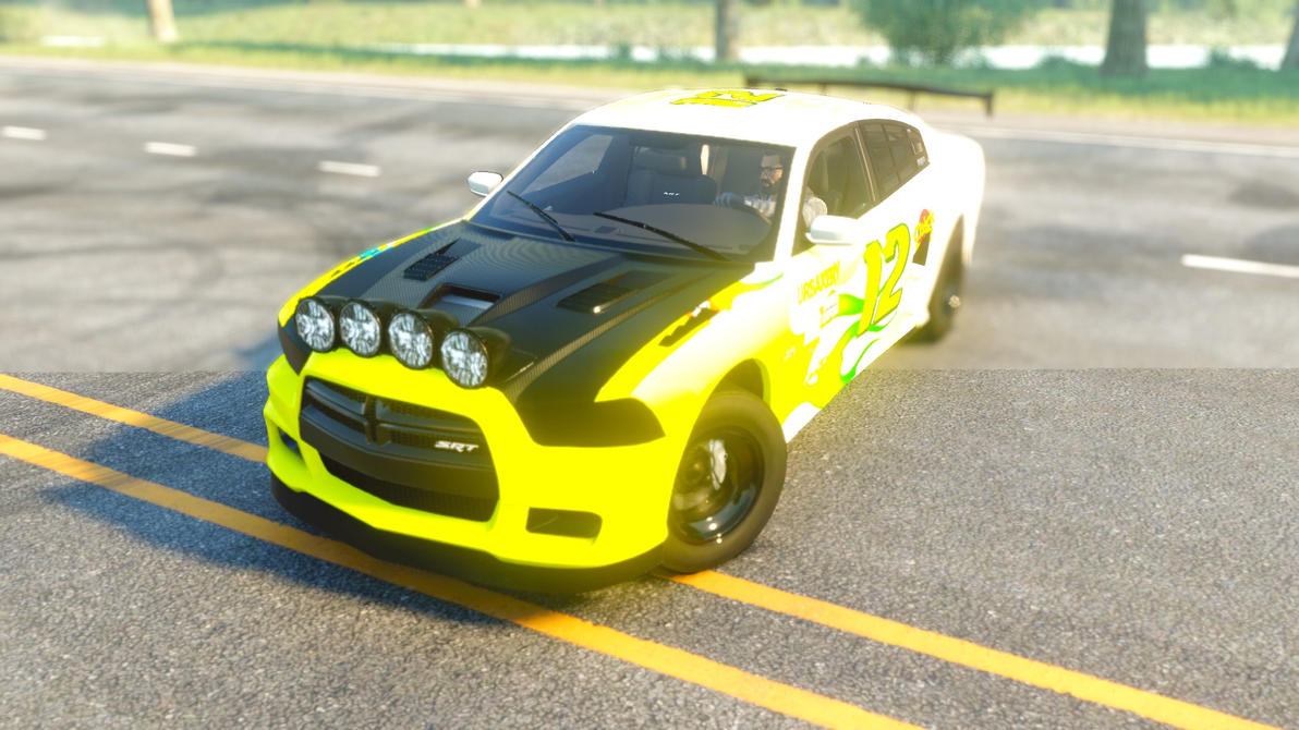 Dirt Dodge Charger by jamsonic