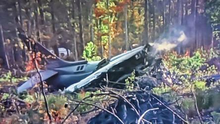 Harrier Crash by jamsonic