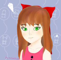 Dat girl from minigames by Whatkiddo
