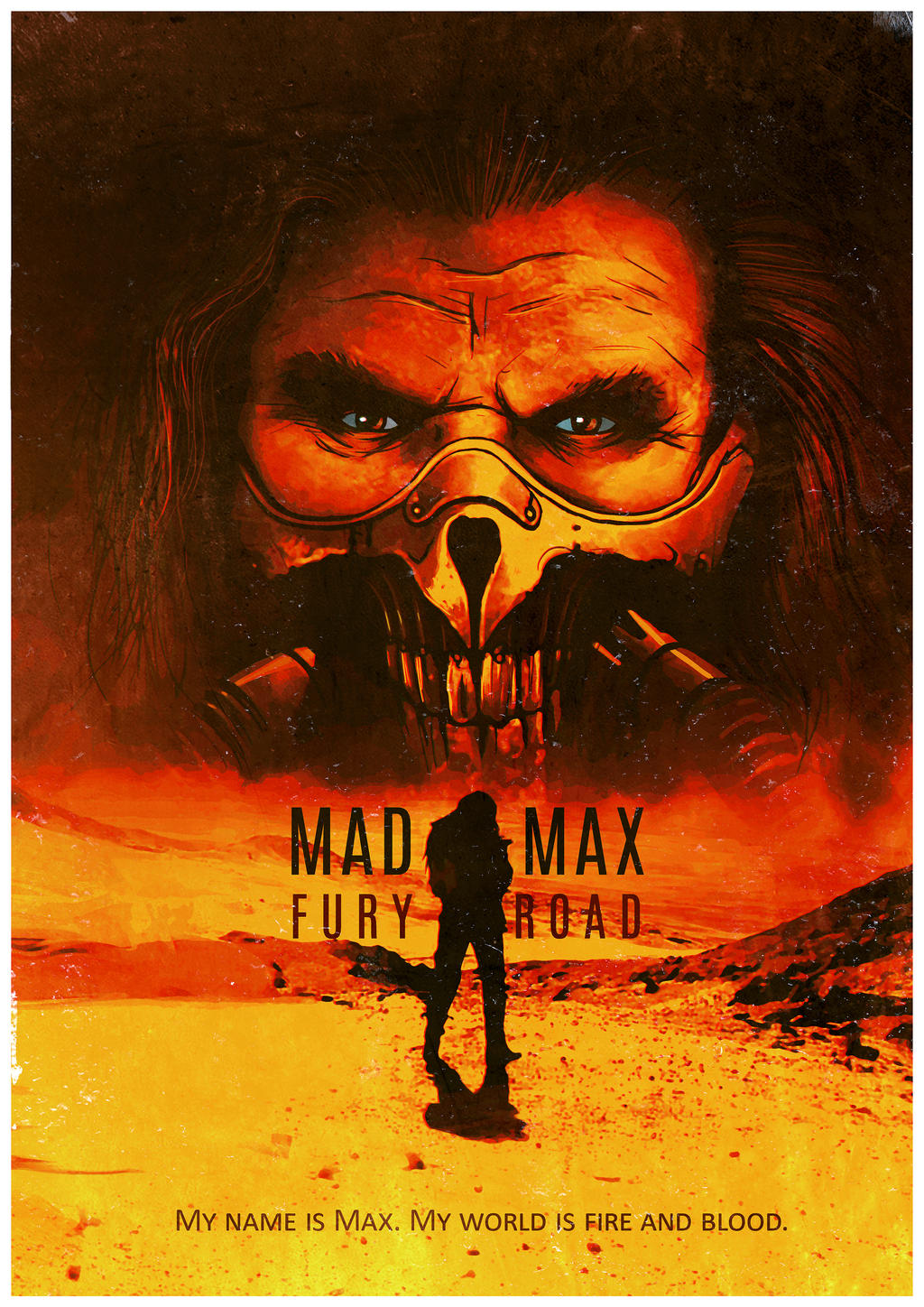 Super Mad Max Fury Road poster by tramvaev on DeviantArt WE81