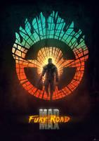 Mad Max: Fury Road poster (var 1) by tramvaev