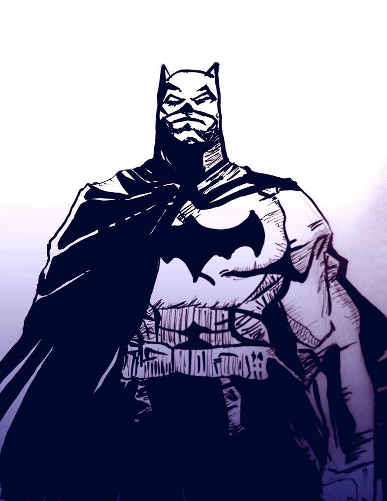 Batman (Jim Lee Inspired ) by YTheJoshuaTreeY