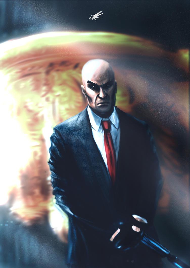 Agent 47 by YTheJoshuaTreeY